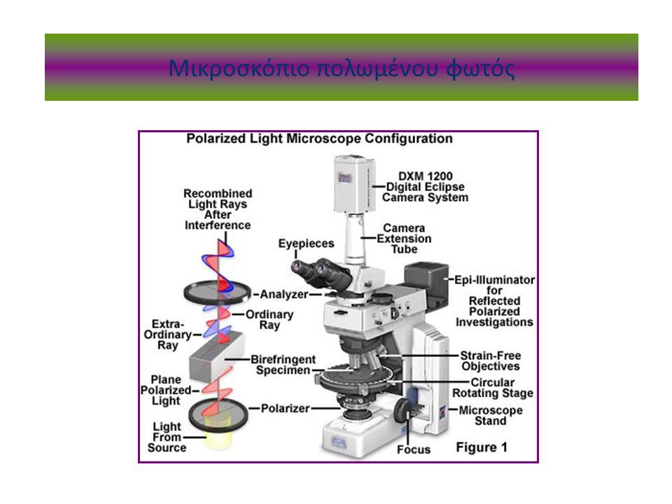 Μικροσκόπιο πολωμένου φωτός