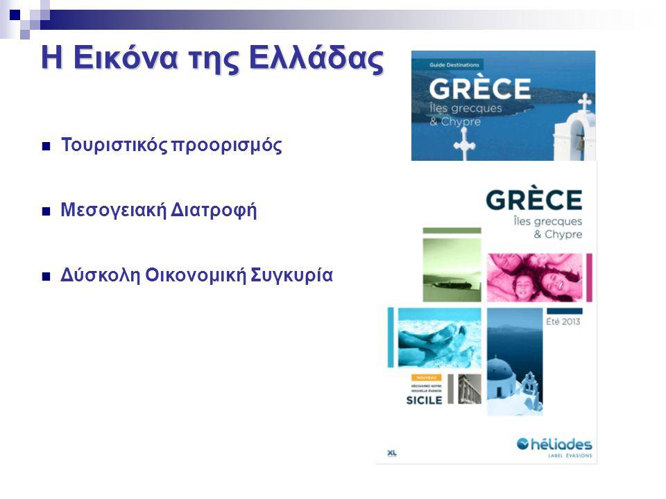 Η Εικόνα της Ελλάδας Τουριστικός προορισμός Μεσογειακή Διατροφή Δύσκολη Οικονομική Συγκυρία