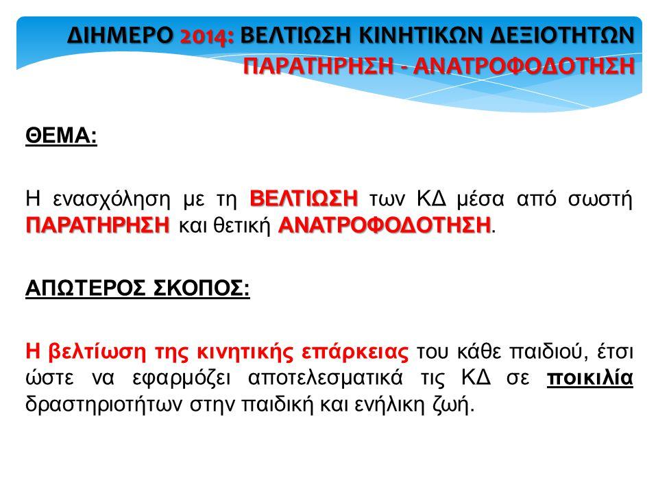 6.ΑΞΙΟΛΟΓΗΣΗ ΣΕΜΙΝΑΡΙΟΥ - ΣΥΖΗΤΗΣΗ