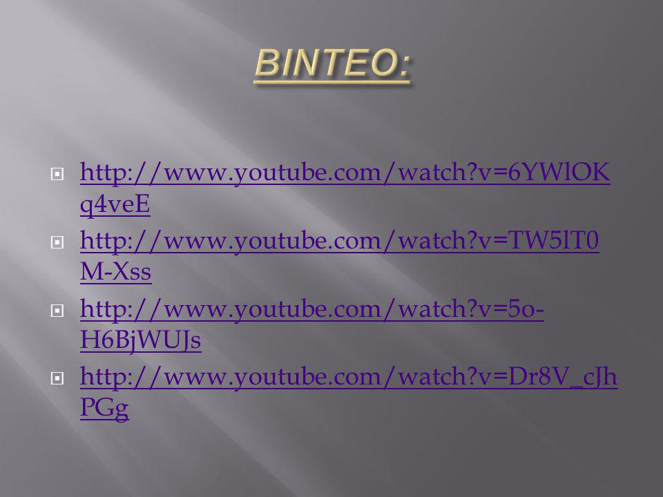  http://www.youtube.com/watch?v=6YWlOK q4veE http://www.youtube.com/watch?v=6YWlOK q4veE  http://www.youtube.com/watch?v=TW5lT0 M-Xss http://www.you