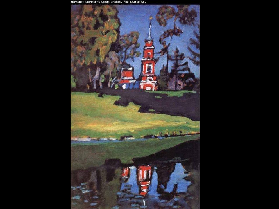 1889: Επισκέπτεται το Παρίσι και τη διεθνή έκθεση 1896: Γίνεται η έκθεση των Γάλλων ιμπρεσιονιστών στη Μόσχα, την ίδια περίοδο παρακολουθεί την παράσταση Λόενγκριν του Ρ.Βάγκνερ και ανακαλύπεται η ραδιενέργεια Έτσι, αρνείται την έδρα του καθηγητή στο πανεπιστήμιο του Ντόρπατ και μετακόμισε στο Μόναχο για να σπουδάσει ζωγραφική