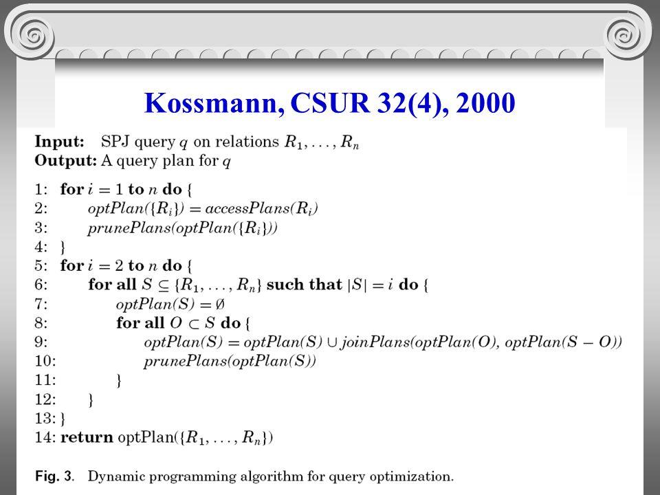 60 Kossmann, CSUR 32(4), 2000
