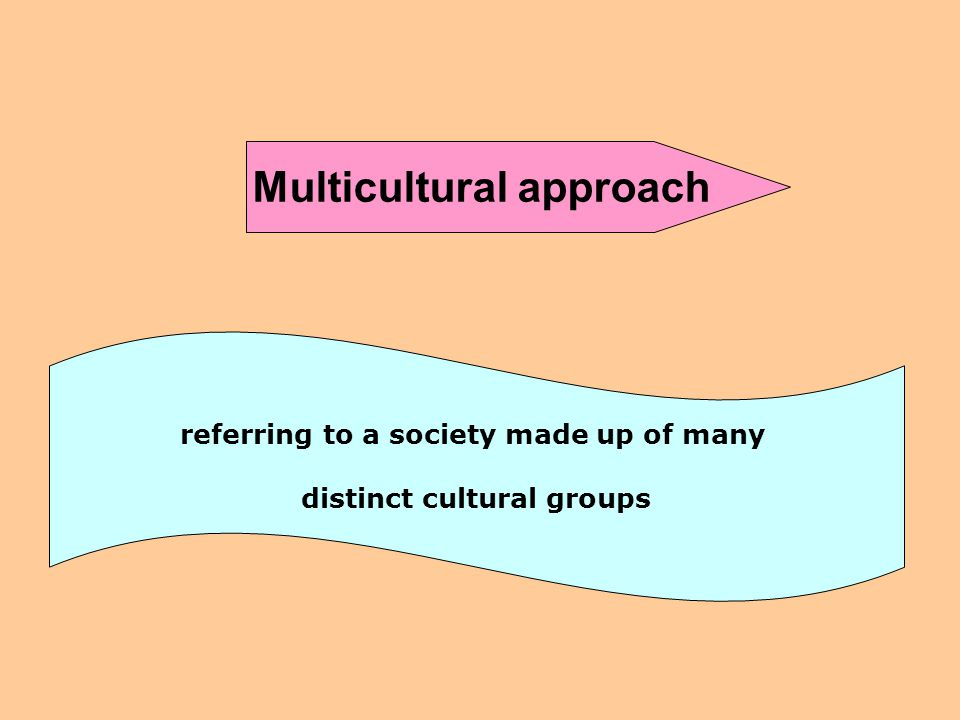 Cross-cultural approach relating to the differences between cultures bridging the gap between cultures