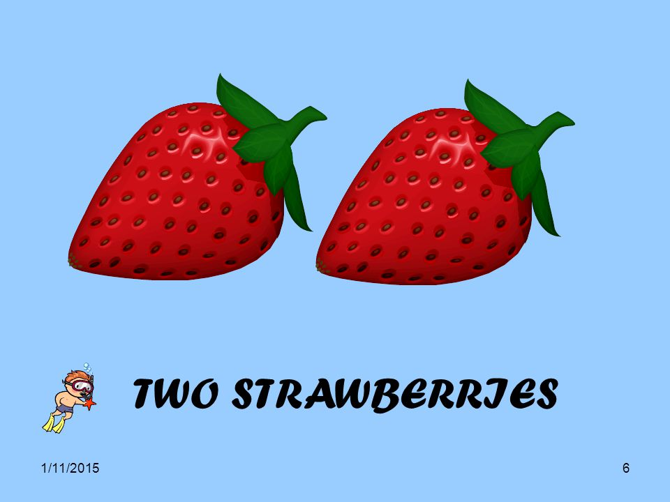 1/11/20156 TWO STRAWBERRIES