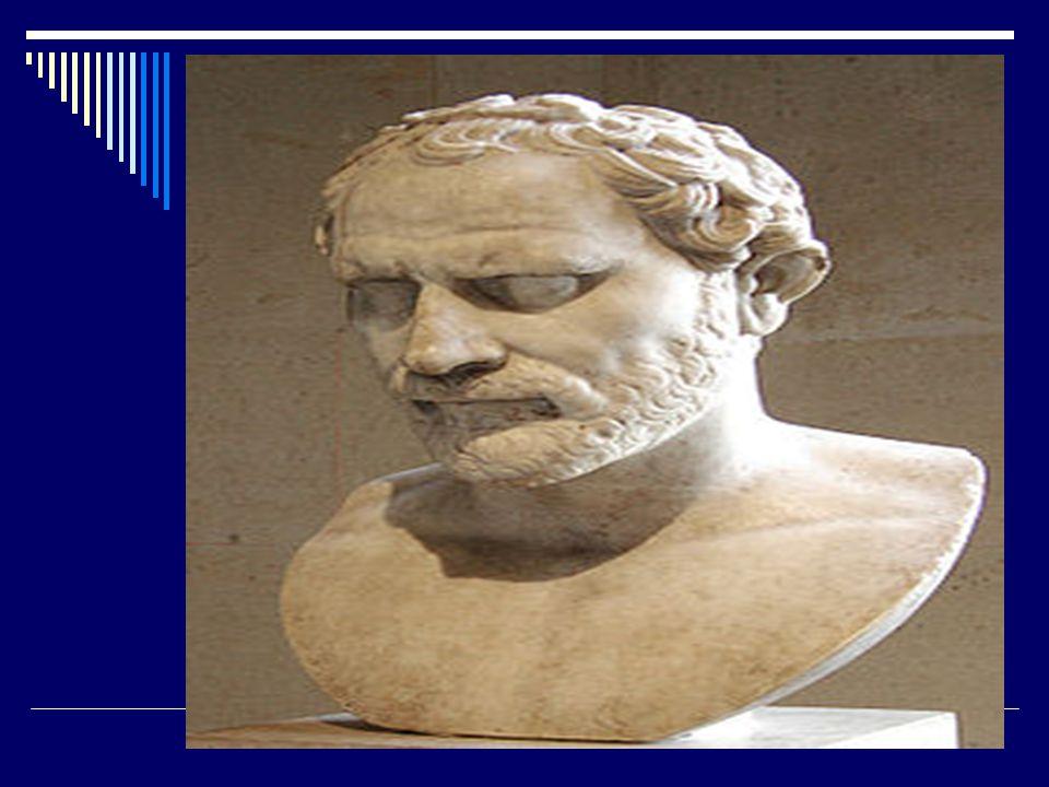 Βίος  384 π.Χ.γέννηση στην Παιανία Αττικής.  322 π.Χ.