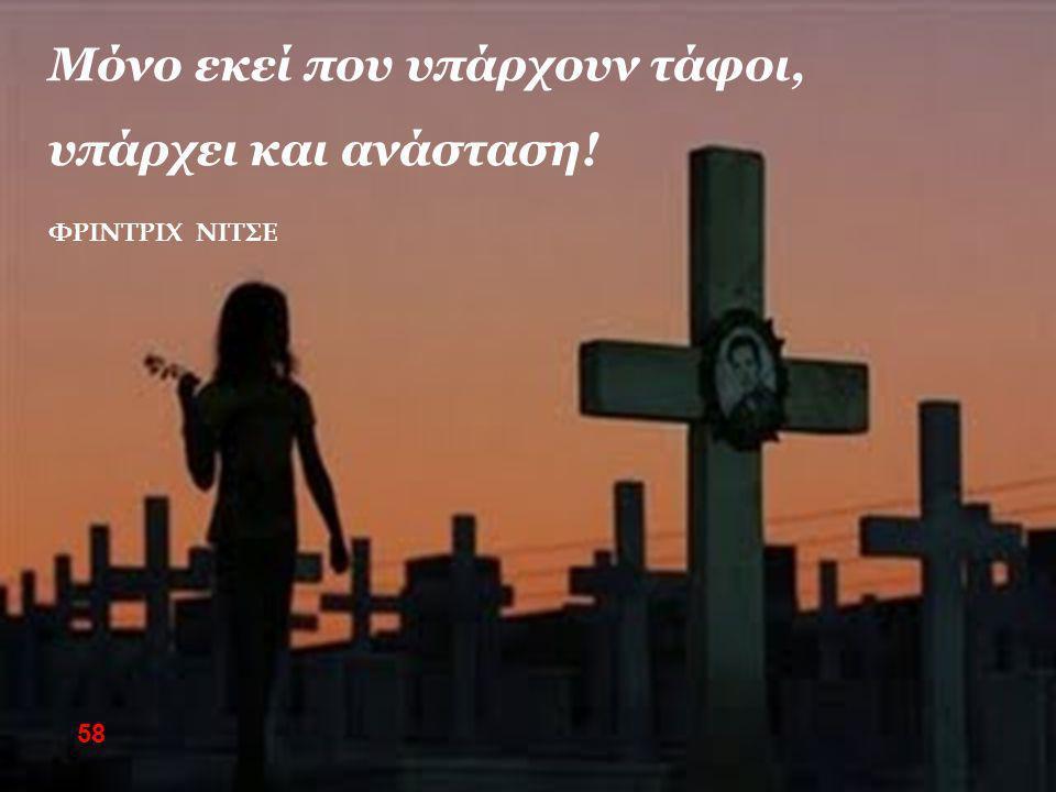 Μόνο εκεί που υπάρχουν τάφοι, υπάρχει και ανάσταση! ΦΡΙΝΤΡΙΧ ΝΙΤΣΕ 58