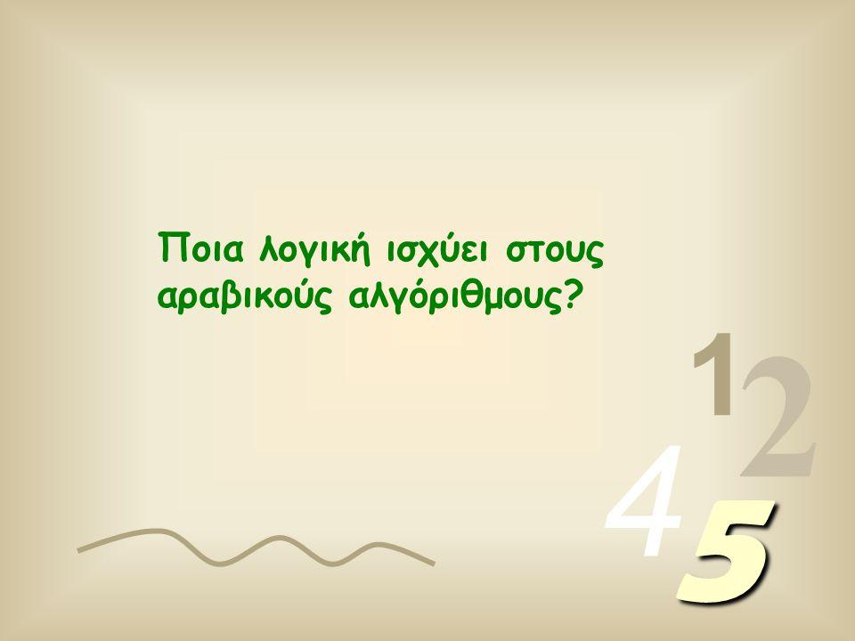1 2 4 5 Εύκολο, πολύ εύκολο…! Υπάρχουν γωνίες!