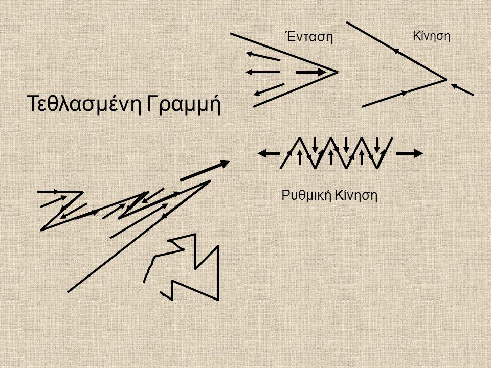 Ένταση Κίνηση Ρυθμική Κίνηση Τεθλασμένη Γραμμή