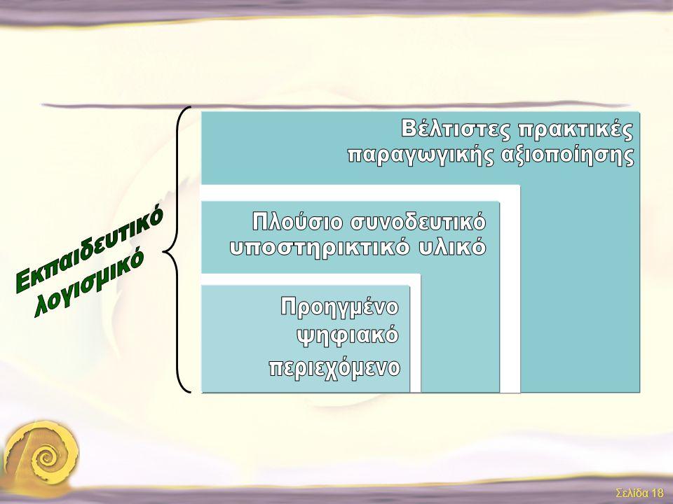 Σελίδα 17 Εσωτερική διάχυση Σεμινάρια Επιμόρφωσης Σεμινάρια Επιμόρφωσης Σεμινάρια Επιμόρφωσης