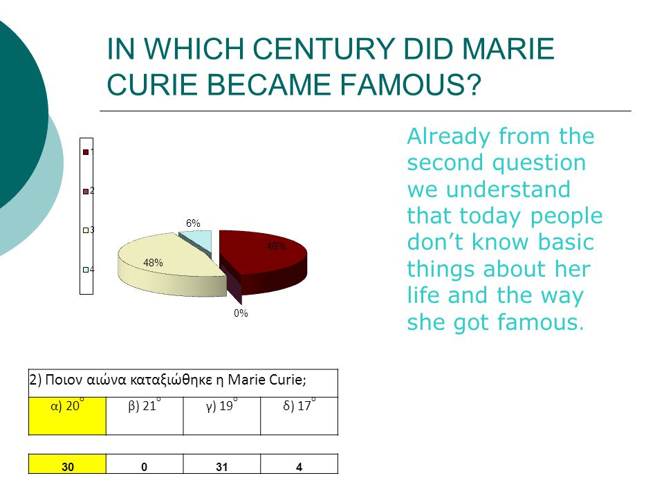 IN WHICH COUNTRY MARIE CURIE WAS BORN.