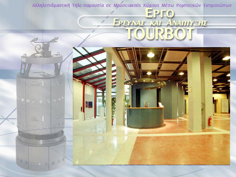 Παρατήρηση μέσω των ματιών του ρομπότ και εξ'αποστάσεως έλεγχος του ρομπότ Internet Τηλε-παρουσία σε εκθεσιακούς χώρους μέσω ρομποτικών εκπροσώπων Κεντρικός Στόχος