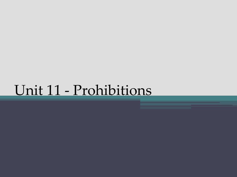 Unit 11 - Prohibitions In the 2 nd and 3 rd person: Progressive aspect = μή + present imperative Simple aspect = μή + aorist subjunctive Prohibitive Subjunctive