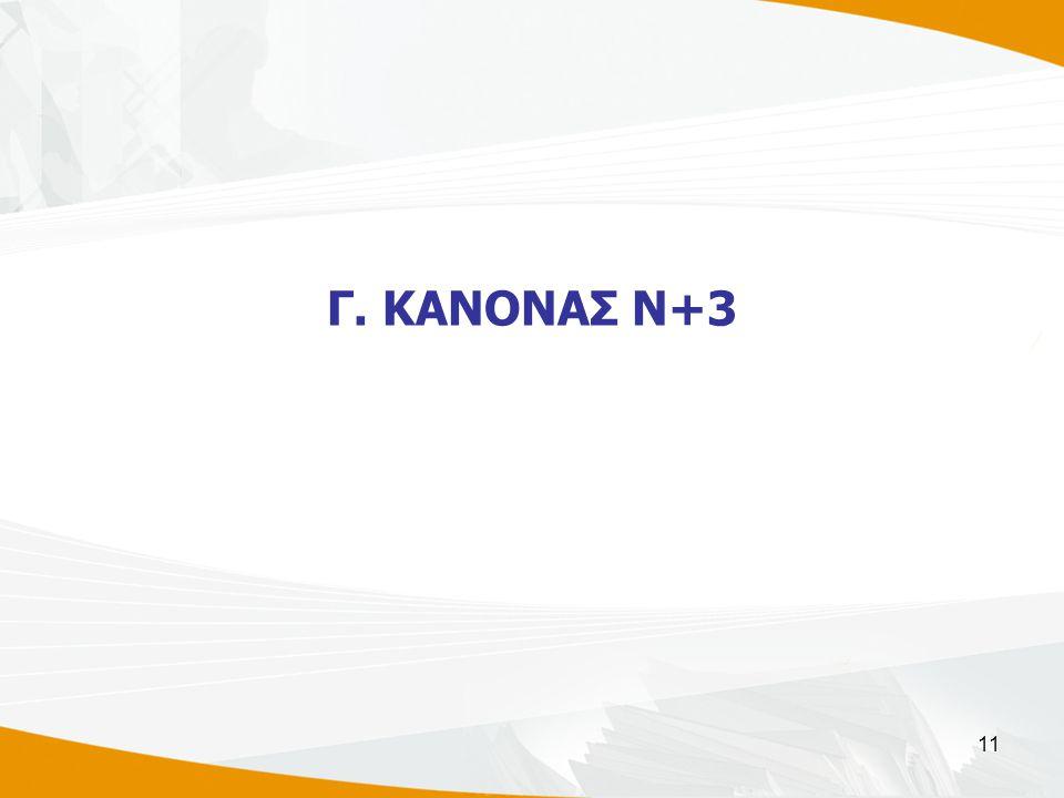 11 Γ. ΚΑΝΟΝΑΣ Ν+3