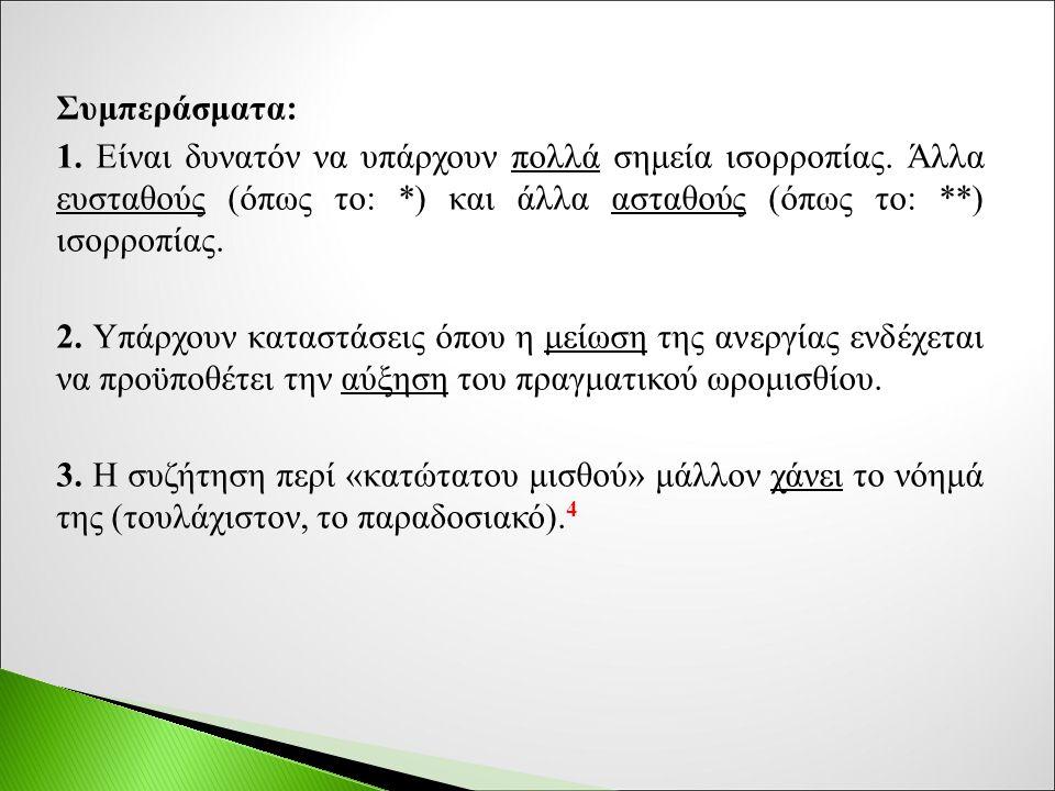 Σύμφωνα με τα βασικά αποτελέσματα της εν λόγω μελέτης για την «Εγγυημένη Απασχόληση» στην Ελλάδα (στοιχεία 2010): 10 1.
