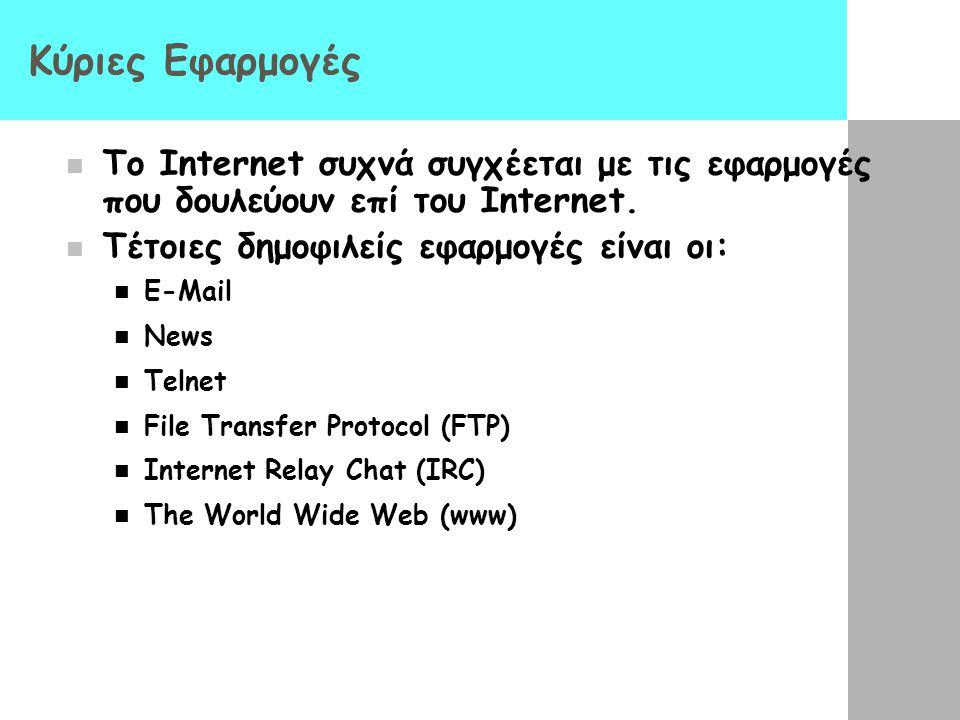 Ανάπτυξη του Internet: χρήστες ΈτοςΑριθμός χρηστών