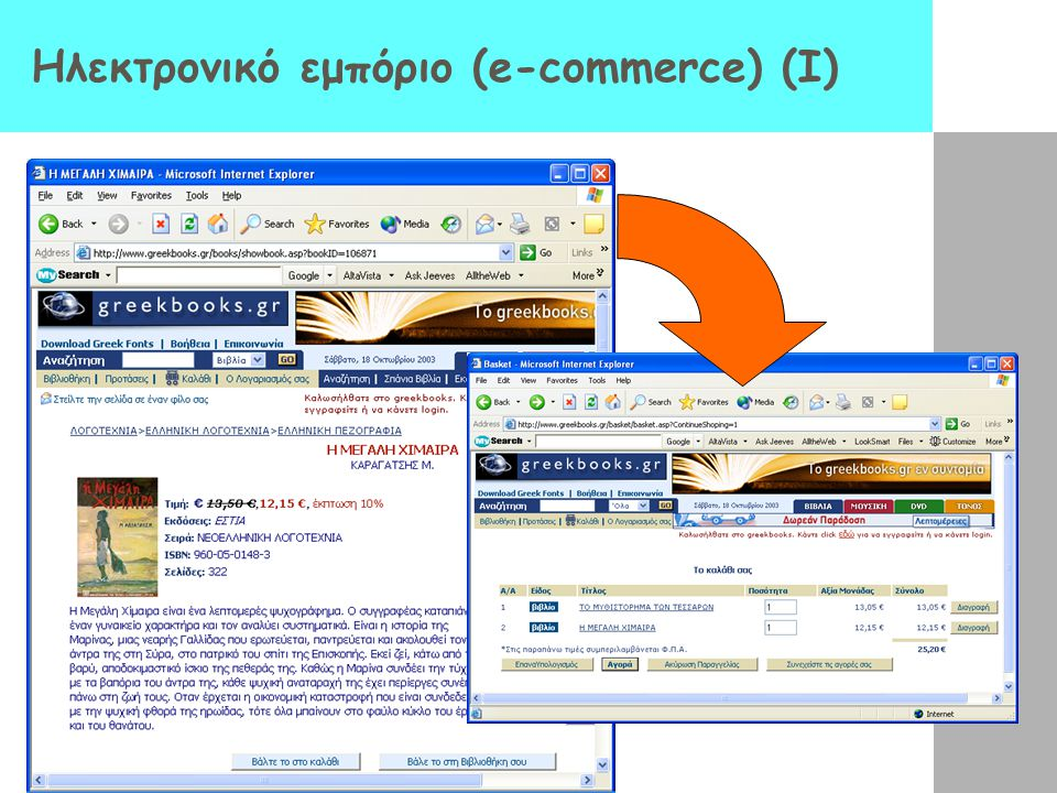 Εφαρμογές για Internet – The World Wide Web ( WWW) Εμφανίζεται το 1993 και «απογειώνει» το Internet Προέρχεται από ένα εσωτερικό σύστημα διαχείρισης ε