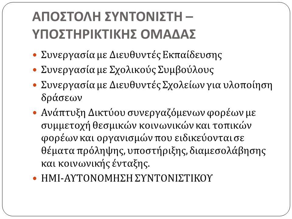 ΟΔΗΓΙΕΣ – ΣΥΜΒΟΥΛΕΣ  5.
