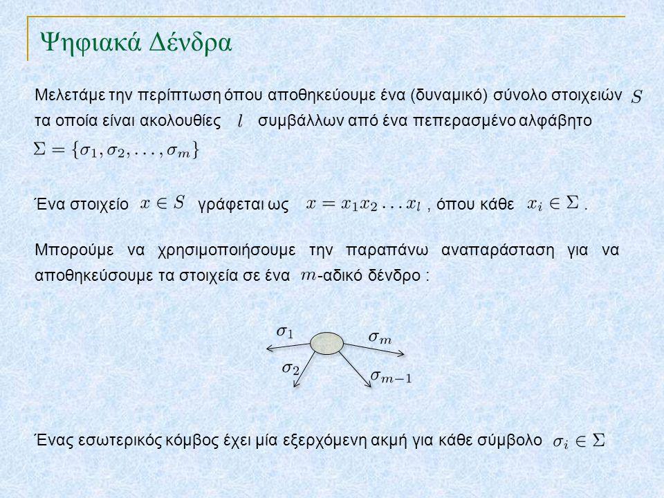 Ψηφιακά Δένδρα TexPoint fonts used in EMF.