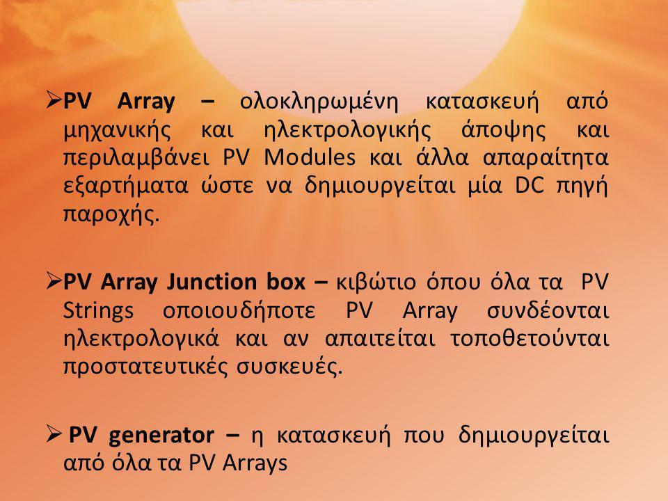 712.536.2.2-Συσκευές για απόζευξη (Devices for isolation)  712.536.2.2.1-Για την επιλογή και εγκατάσταση των συσκευών για απόζευξη και διακοπή μεταξύ της εγκατάστασης του Φ/Β και της δημόσιας παροχής, να θεωρείται ότι η δημόσια παροχή είναι η πηγή και το Φ/Β το φορτίο.