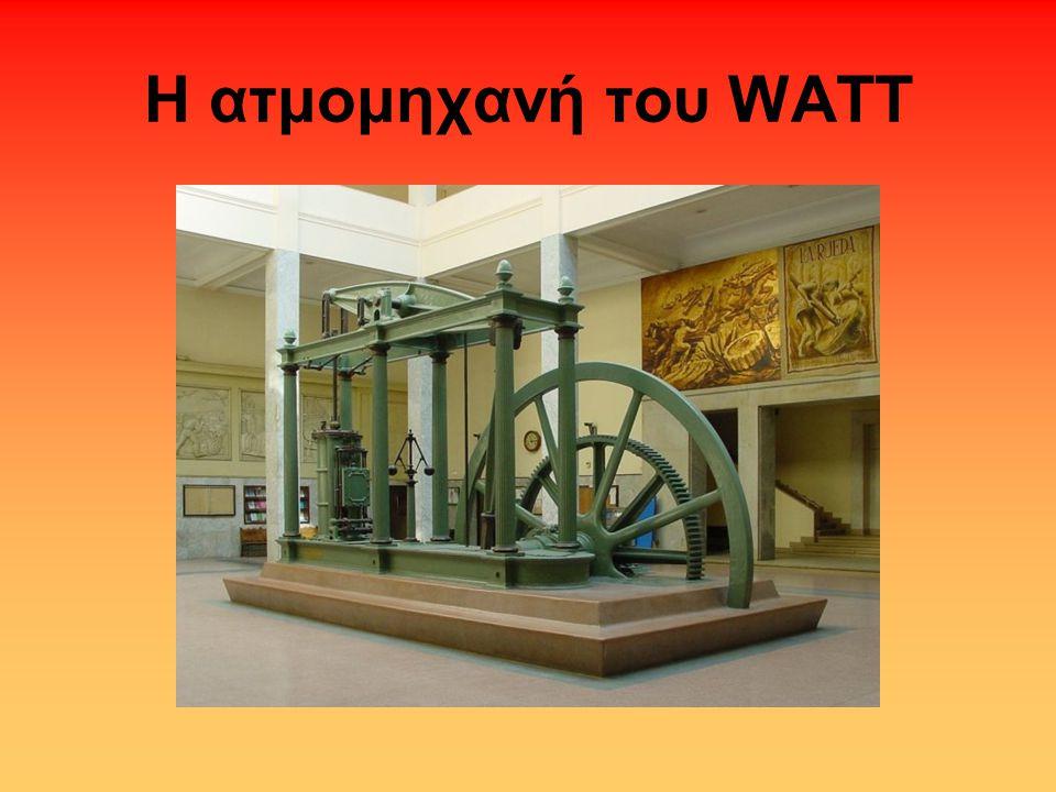 Η ατμομηχανή του WATT