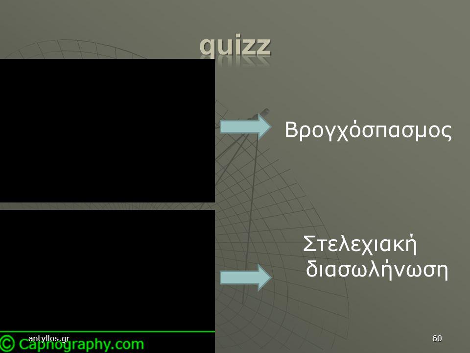 60 Βρογχόσπασμος Στελεχιακή διασωλήνωση antyllos.gr