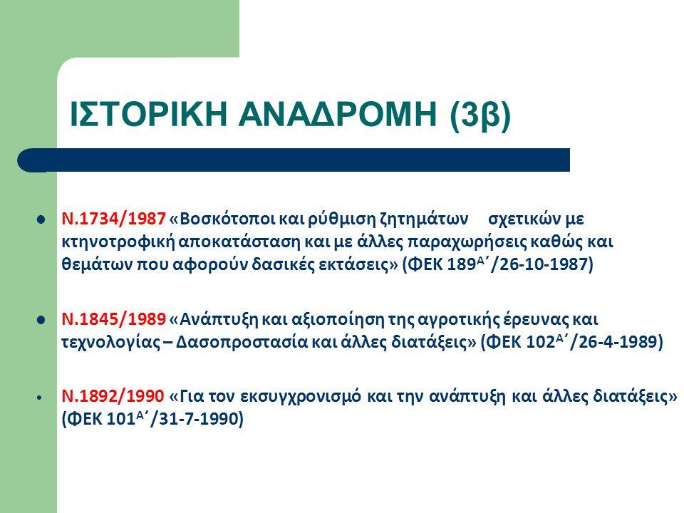 ΣΥΜΒΟΥΛΙΑ ΙΔΙΟΚΤΗΣΙΑΣ ΔΑΣΩΝ ΣΙΔ Αθηνών (104 εκκρεμείς υποθέσεις από το 1974) ΣΙΔ Πειραιά (15 εκκρεμείς υποθέσεις από το έτος 2007) Δεν λειτουργούν σήμερα (δεν έχει γίνει σύσταση από το αρμόδιο υπουργείο)