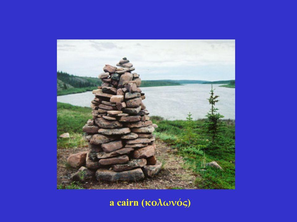 a cairn ( κολωνός )