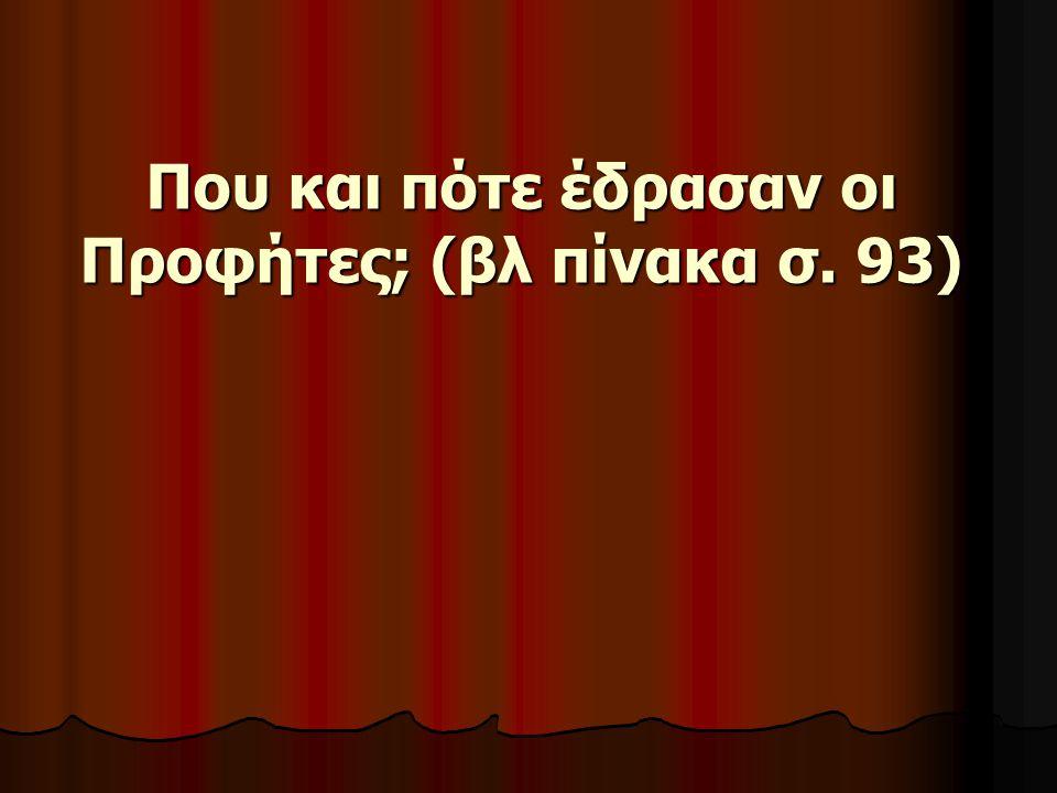 Στο Σύμβολο της Πίστεως στο 8 ο άρθρο λέμε: «Και εις το Πνεύμα το άγιον, το Κύριον, το Ζωοποιόν, το εκ του Πατρός εκπορευόμενον, το συν Πατρί και Υιώ συμπροσκυνούμενον και συνδοξαζόμενον, το λαλήσαν δια των προφητών.
