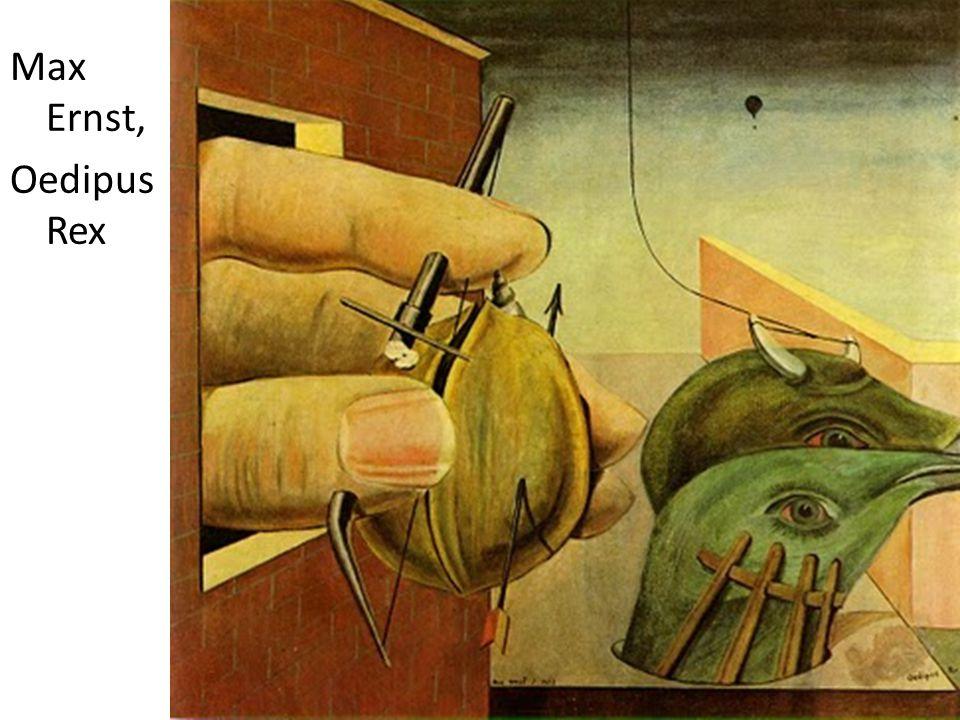 Max Ernst, Oedipus Rex
