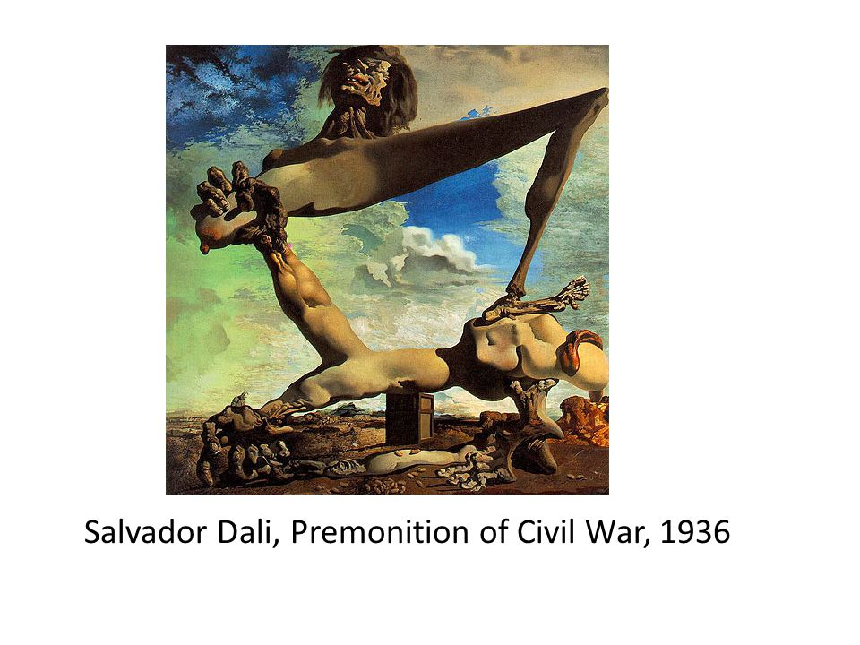 Salvador Dali, Premonition of Civil War, 1936