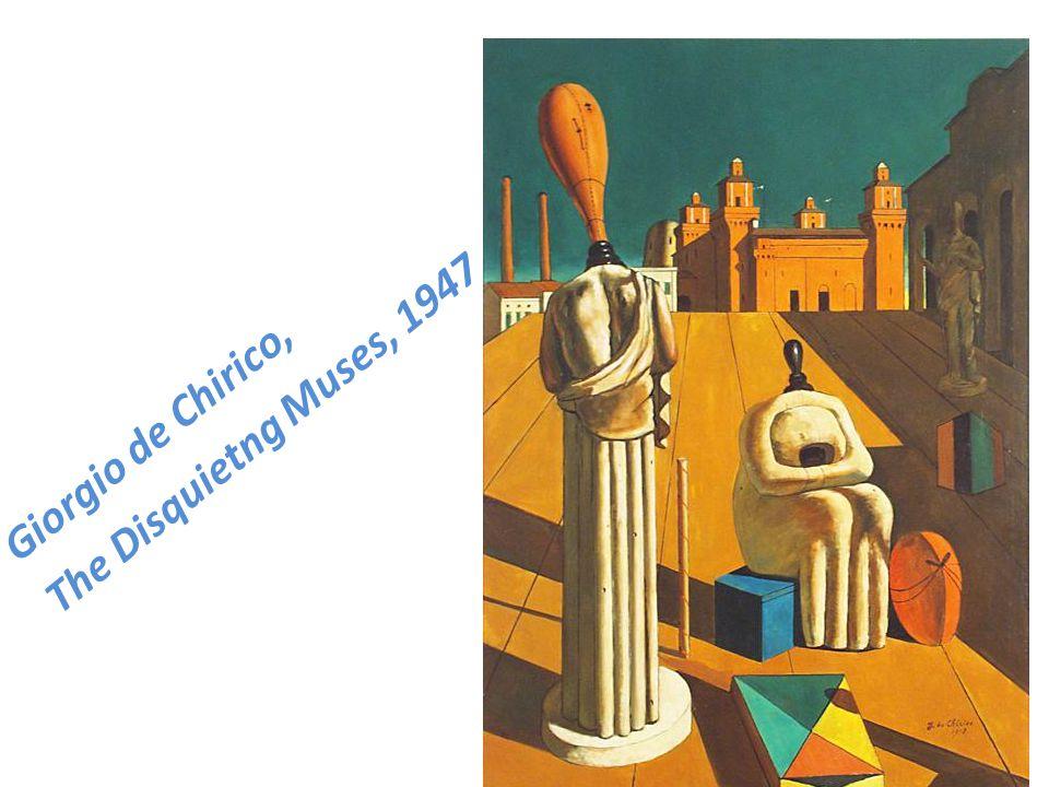 Giorgio de Chirico, The Disquietng Muses, 1947