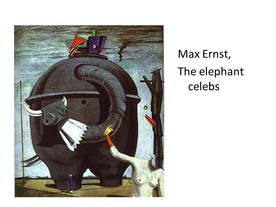 Max Ernst, The elephant celebs
