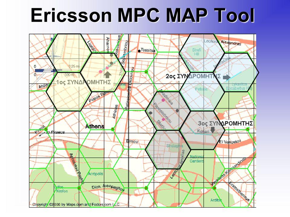 Ericsson MPC MAP Tool