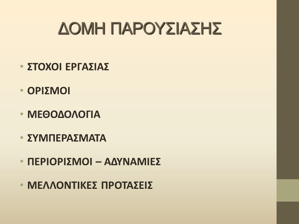ΣΤΟΧΟΙ ΕΡΓΑΣΙΑΣ Έρευνα εφοδιαστικής αλυσίδας στρογγυλής ξυλείας Αποτύπωση – αξιολόγηση υπάρχουσας εφοδιαστικής αλυσίδας στρόγγυλης ξυλείας στην Ελλάδα