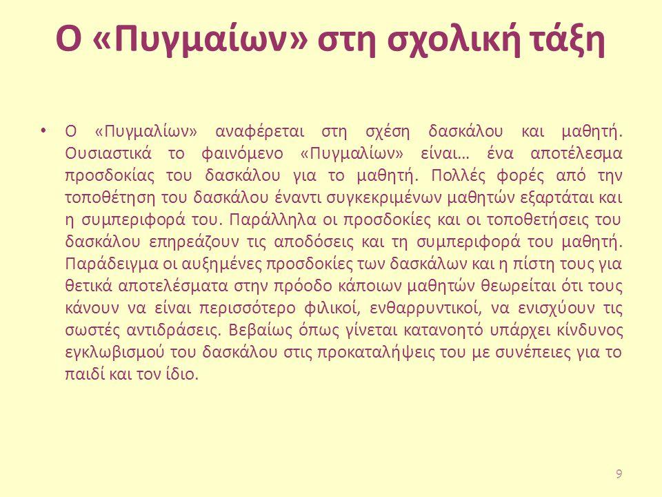 Ο μύθος Σύμφωνα με το μύθο ο Πυγμαλίων υπήρξε βασιλιάς της Κύπρου και φημισμένος καλλιτέχνης.