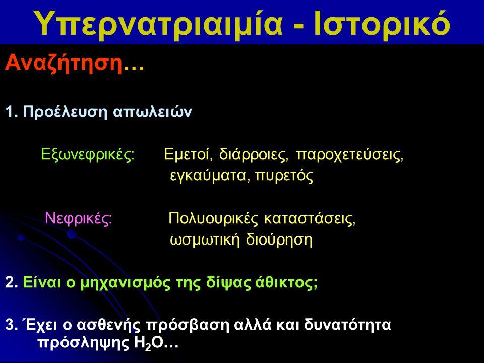 Οξεία υπερνατριαιμία Na + ορού=188 mEq/L Μετά διόρθωση της υπερνατριαιμίας Machino, Neurology 2006; 67: 880