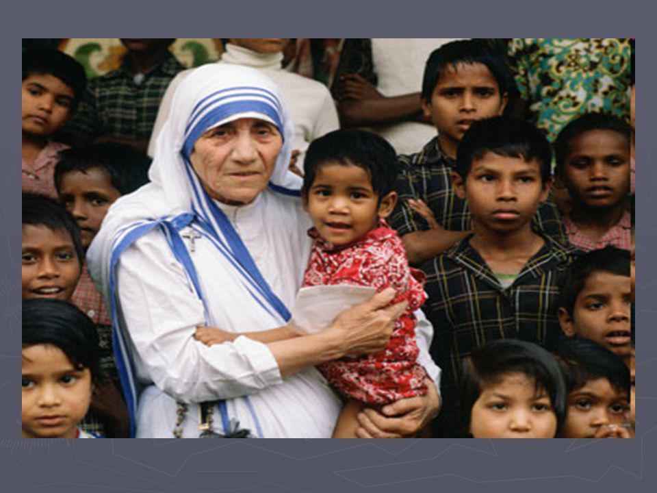 Βιογραφία ► Η Μητέρα Τερέζα γεννήθηκε στις 26 Αυγούστου του 1910 στα Σκόπια της τότε Οθωμανικής Αυτοκρατορίας (σήμερα πρωτεύουσα της ΠΓΔΜ).