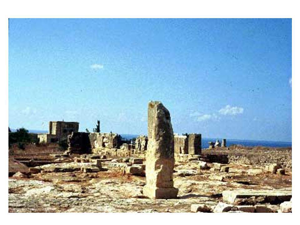 ΙΕΡΟ ΤΗΣ ΑΦΡΟΔΙΤΗΣ Ο ιστορικός Παυσανίας αναφέρει ότι το ιερό κτίστηκε από τον Αγαπήνορα βασιλιά της Αρκαδίας γύρω στον 12 ον αιώνα π.χ.