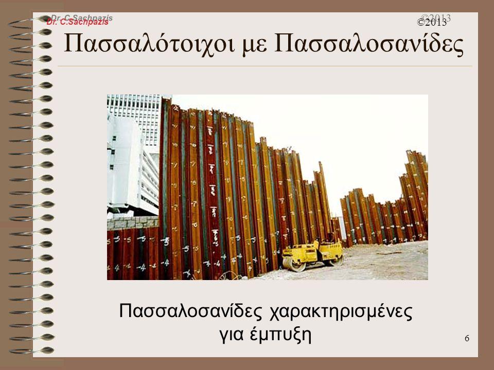 Dr. C.Sachpazis ©2013 5 Εδαφικές Ιλώσεις