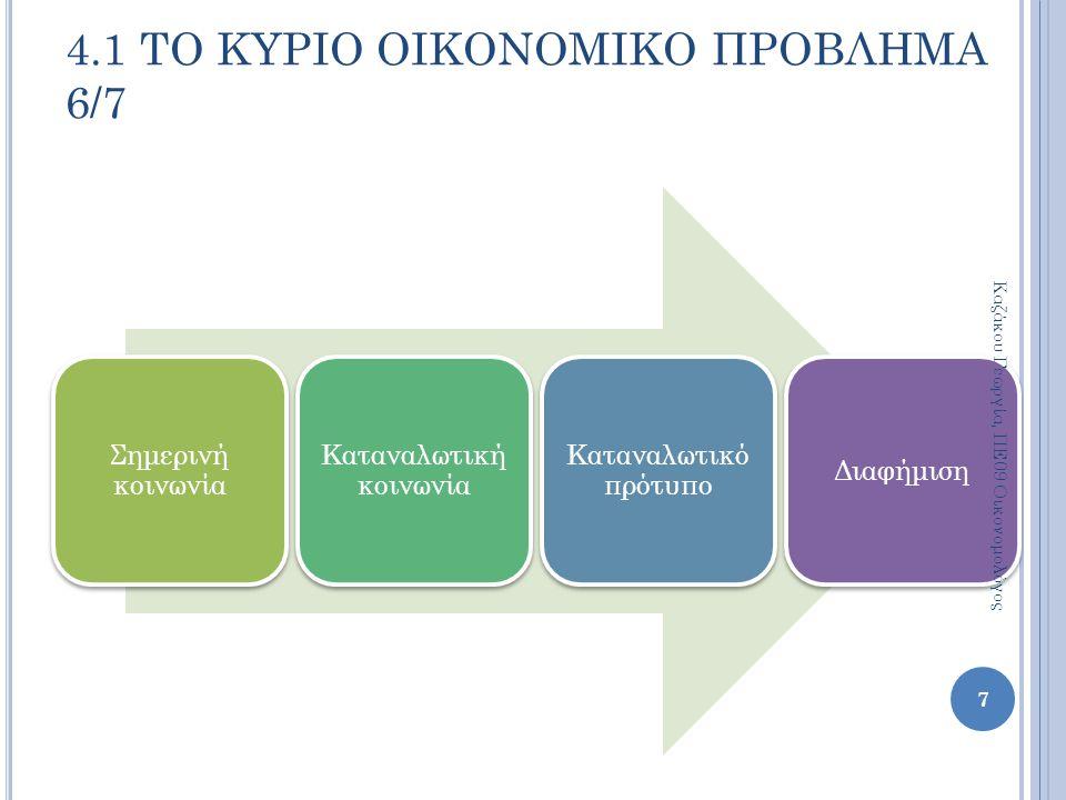 Σκοπός των δημόσιων φορέων είναι η μεγιστοποίηση της κοινωνικής ευημερίας.