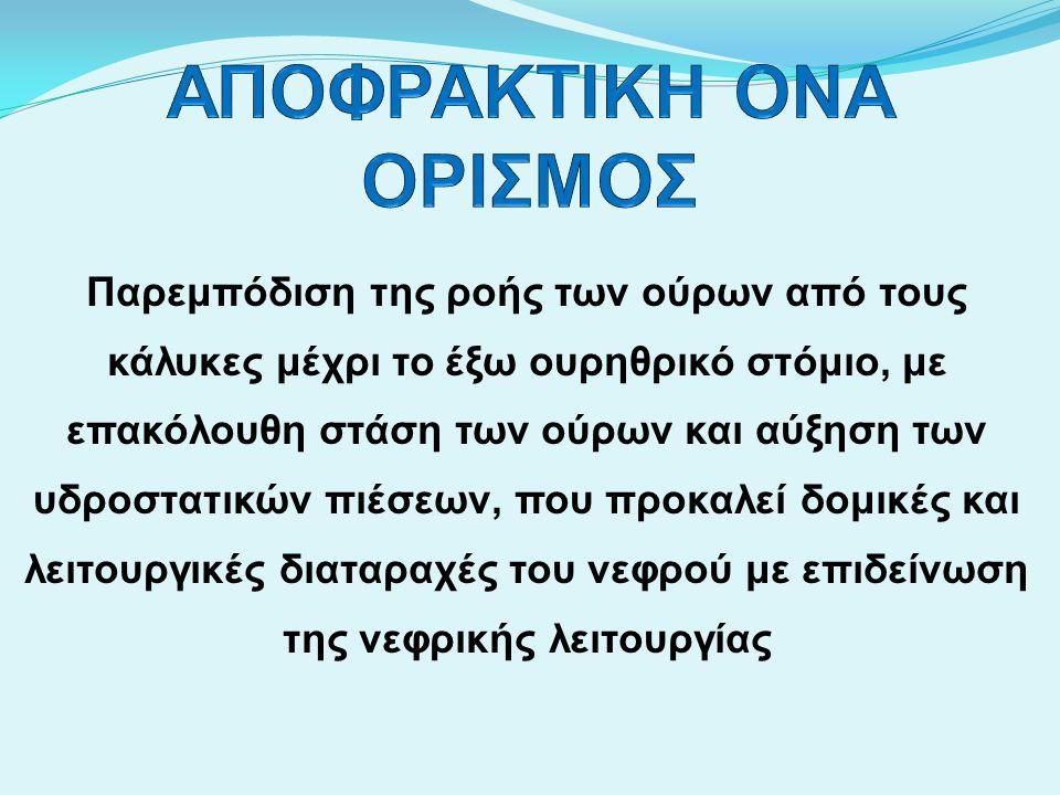 ΑΝΤΙΜΕΤΩΠΙΣΗ ΑΠΟΦΡΑΚΤΙΚΗΣ ΟΝΑ