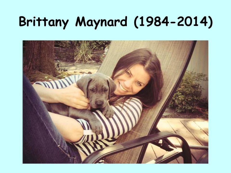 Brittany Maynard (1984-2014)