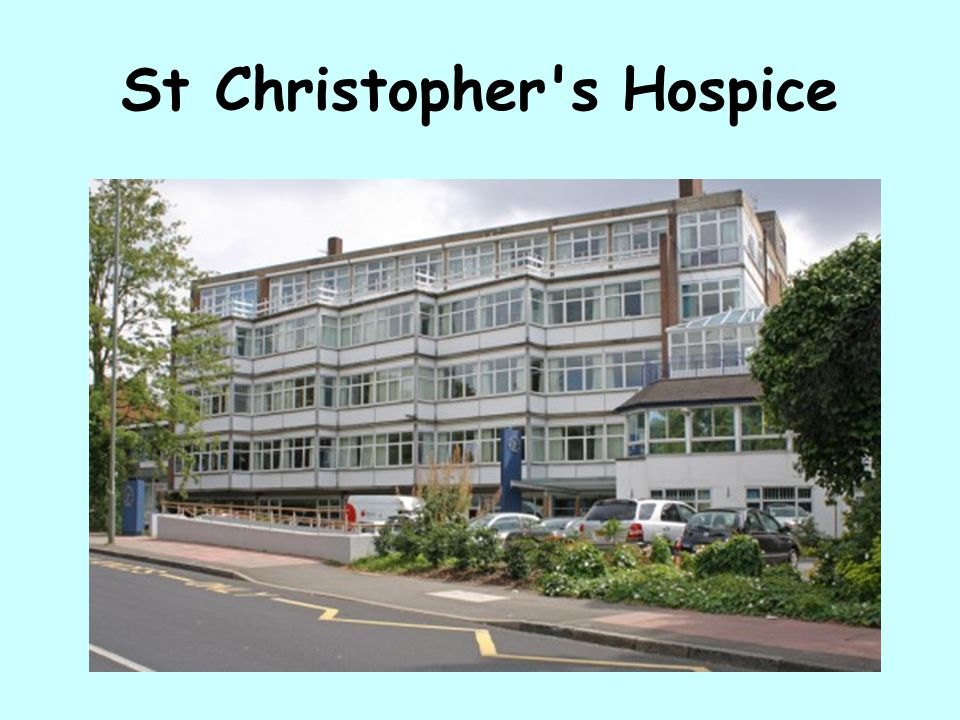 St Christopher s Hospice