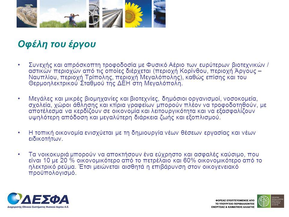  Δημιουργία 100 έως 150 θέσεων εργασίας κατά την κατασκευή του έργου (14 – 18 μήνες).