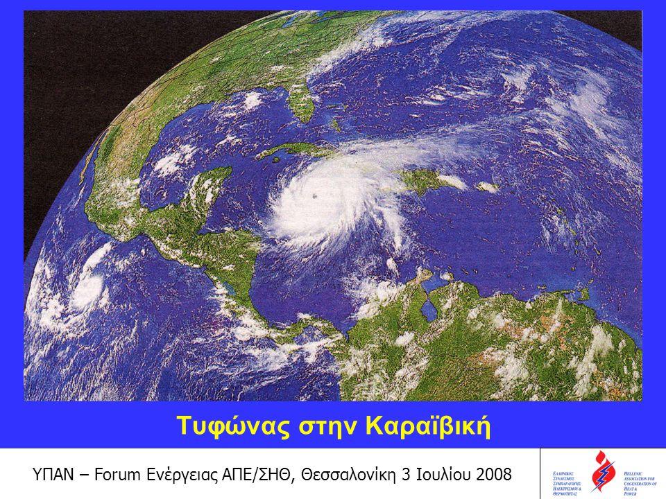 ΥΠΑΝ – Forum Ενέργειας ΑΠΕ/ΣΗΘ, Θεσσαλονίκη 3 Ιουλίου 2008 Τι μπορεί και τι πρέπει να γίνει; Για να ανασταλούν τα επιβλαβή περιβαλλοντικά φαινόμενα πρέπει να ληφθούν μέτρα.