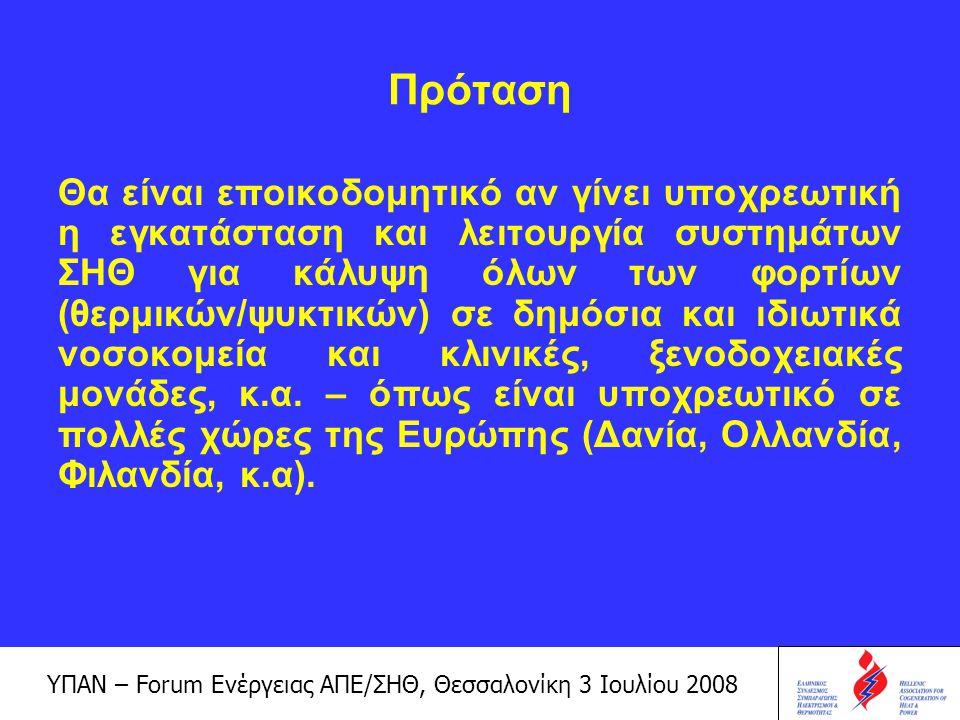 ΥΠΑΝ – Forum Ενέργειας ΑΠΕ/ΣΗΘ, Θεσσαλονίκη 3 Ιουλίου 2008 Χρηματοδοτικό Πλαίσιο Το Επιχειρησιακό Πρόγραμμα Ανταγωνιστικότητας (ΕΠΑΝ) Ο Νόμος 3468/2006 Μέρος του νόμου αποτελεί η τιμολόγηση της ηλεκτρικής ενέργειας που παράγεται από ΑΠΕ και ΣΗΘΥΑ και απορροφάται από το Σύστημα ή το Δίκτυο, με σκοπό την απεξάρτηση από τα τιμολόγια της ΔΕΗ και τη διασφάλιση των επενδύσεων.
