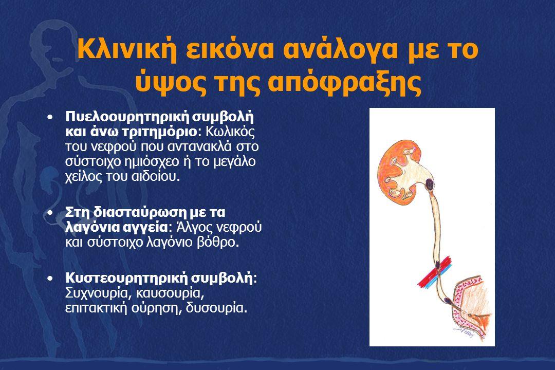 Διαφορική διάγνωση 1.Οξεία σκωληκοειδίτιδα 2.Χολοκυστίτιδα και κωλικός χοληδόχου 3.Εκκολπωματίτιδα 4.Σαλπιγγίτιδα 5.Ρήξη εξωμήτριας κύησης 6.Οξεία οσφυαλγία 7.Γαστρεντερίτιδα 8.Παθήσεις βάσεων πνευμόνων (πνευμονία) 9.Ρήξη ανευρύσματος κοιλιακής αορτής