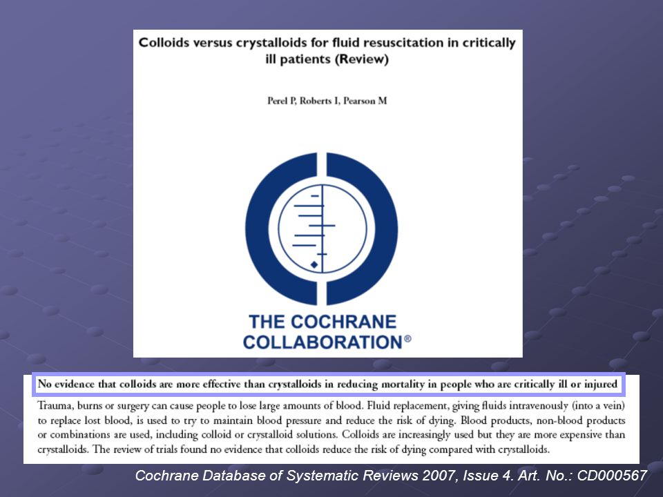 Cochrane Database of Systematic Reviews 2007, Issue 4. Art. No.: CD000567