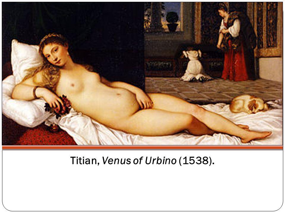 Titian, Venus of Urbino (1538).