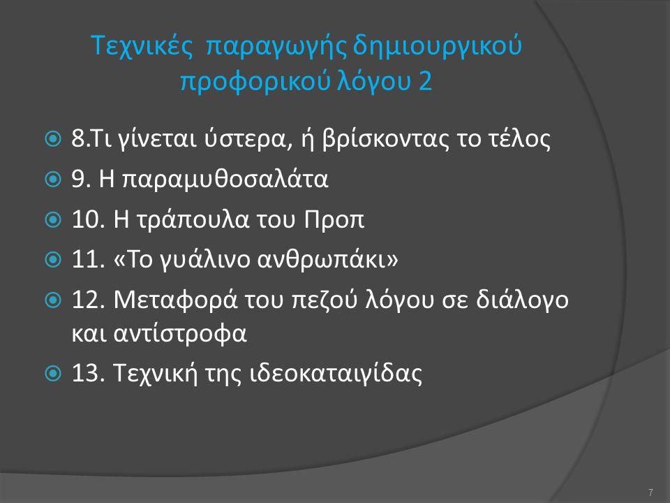 ΤΕΛΟΣ ΠΑΡΟΥΣΙΑΣΗΣ 28